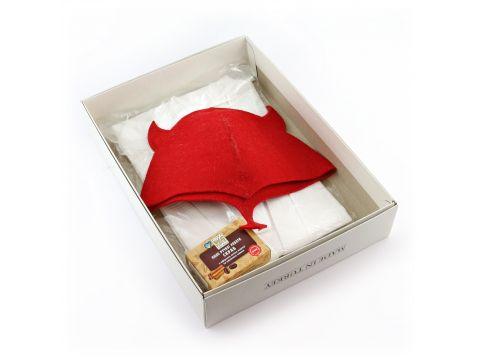 Подарочный набор для сауны Sauna Pro №5 Чертенок (N-120)