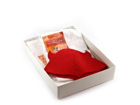 Подарочный набор для сауны Sauna Pro №7 Чертенок (N-154)