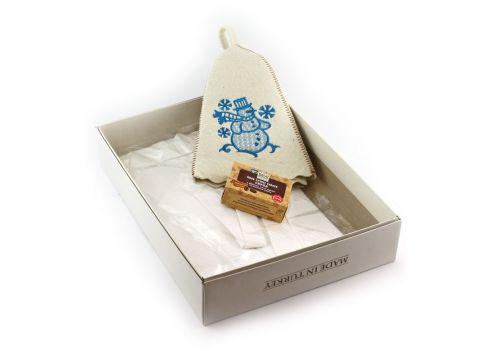 Подарочный набор для сауны Sauna Pro №8 Снеговик (N-160)