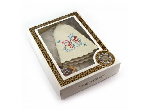 Подарочный набор для сауны Sauna Pro №8 Снеговики (N-161)