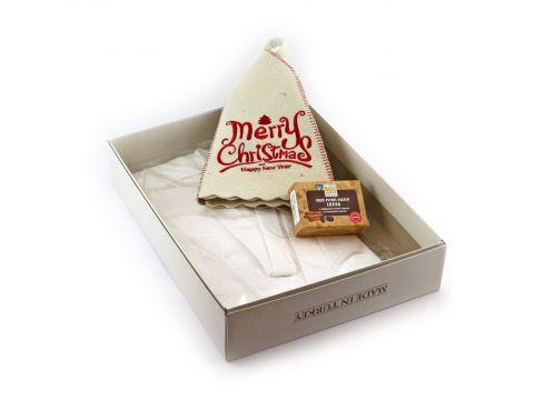 Подарочный набор для сауны Sauna Pro №8 Merry Christmas (N-162)