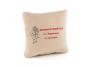 Подушка подарочная «Женщина меняется» Бежевая (PW_303_fk)