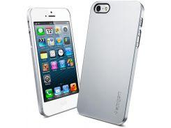 Чехол SGP Ultra Thin Air Series Satin Silver для iPhone 5/5S/SE (SGP09538)