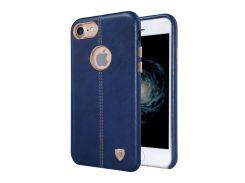 Кожаная накладка Nillkin Englon для iPhone 7/8 Blue