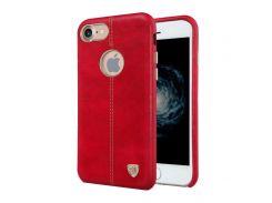 Кожаная накладка Nillkin Englon для iPhone 7/8 Red