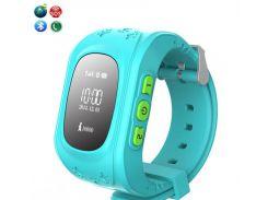 Детские смарт-часы с GPS трекером Smart Baby GW300 (Q50) Blue