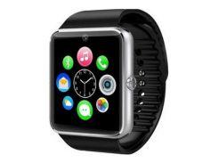 Cмарт часы Smart Watch GT08 с функцией телефона Черные (G101001116)