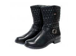 Полусапожки женские MTT Fashion 36 Черный (15057)