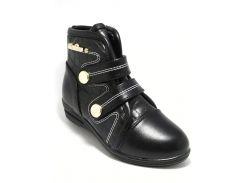 Ботинки TOM.M 27(р) Черный C-T81-33-A