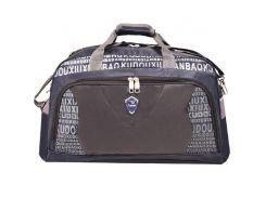 Дорожная сумка Kudouer 52х35х27 Черно-синий (кс1215Ссин)