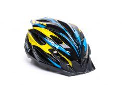 Шолом велосипедний OnRide Grip L Синій / чорний / жовтий (69078900011 )