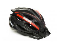 Шолом велосипедний OnRide GRIP L Чорний / червоний (69078900063 )