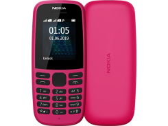 Мобильный телефон Nokia 105 TA-1174 Dual Sim 2019 Pink
