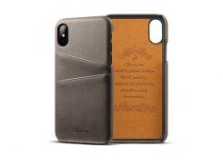 Чехол Juteni для iPhone X Grey (AL1392)