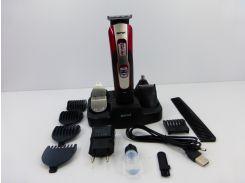 Многофункциональный триммер-электробритва-машинка для стрижки Gemai 10 в 1 (592)