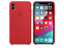 Чехол Apple Silicone Case for iPhone Xs Max Red (7230)