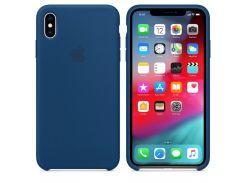 Чехол Apple Silicone Case for iPhone Xs Max Blue Horizon (7232)