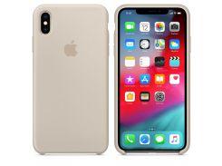 Чехол Apple Silicone Case for iPhone Xs Max Stone (7237)