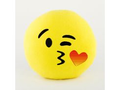 "Подушка ""Смайл Воздушный поцелуй"" Желтый (PS_003_yellow_fk_1)"
