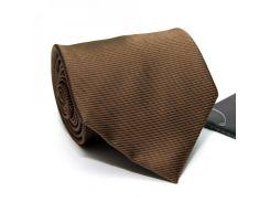 Галстук мужской Perform Uomo коричневый в полоски GIN-2578