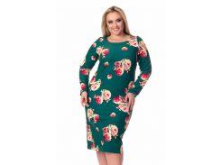 Платье Tasa 1124 56 Зеленое
