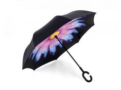 Зонт наоборот Up-brella - зонт Обратного Сложения Разноцветный (an1133)