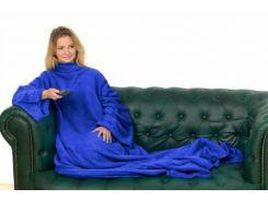 Плед с рукавами Snuggie Синий (nt5237)