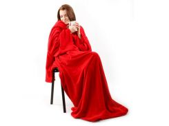 Плед с рукавами Snuggie Красный (nt5237а)