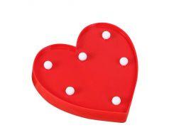 Ночник Kronos Top Сердце Красный (stet_786)