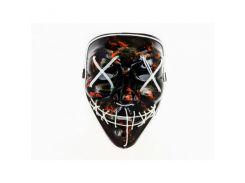 Неоновая маска Purge Mask из фильма Судная ночь Белая (DX-1006)
