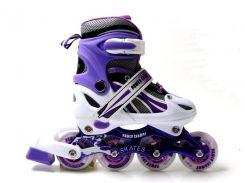 Роликовые коньки Power Champs 29-33 Violet (2026252347-S)