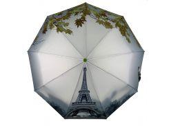 Женский автоматический зонт Flagman с эйфеливой башней в подарочной упаковке (745-3)
