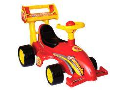Автомобиль-каталка для прогулок Формула Красный (ss0086291)