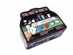 Набор для игры в покер Duke в оловянном кейсе 200 фишек (TC04201C)