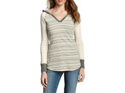 Кофта Eddie Bauer Womens Favorite Striped Hoodie IVORY L Комбинированный (4412IV-L)
