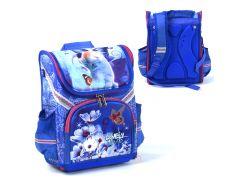 Рюкзак школьный каркасный Котик 1 отделение 3 кармана Синий (109568)
