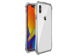 Бампер Luphie для iPhone X/Xs Silver