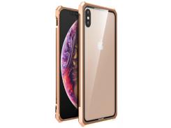 Чехол накладка Luphie для iPhone X/Xs Gold