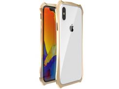 Бампер Luphie для iPhone X/Xs Gold