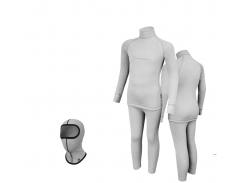 Комплект детского термобелья Radical Melange 104-110 Светло-серый