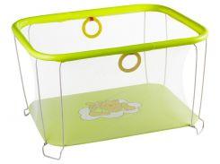 Манеж игровой KinderBox с мелкой сеткой Желтый (kms1)