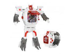 Детская игрушка Robot Watch часы робот трансформер 2 в 1 Белый (CR-53)