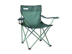 Туристическое раскладное кресло Spokey Angler 84x54x81 см Зеленое (s0256)