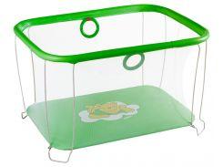 Манеж игровой KinderBox с мелкой сеткой Зеленый (kms 2)