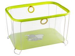 Детский игровой KinderBox с мелкой сеткой Желтый (kms 4336)