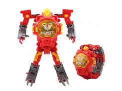 Детская игрушка Robot Watch часы робот трансформер 2 в 1 Красный (CR-52)