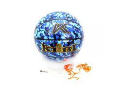 Мяч баскетбольный Kepai KEBI Синий камуфляж (107117)