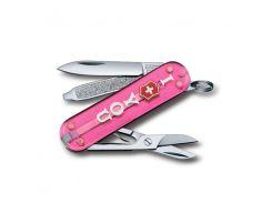 Швейцарский нож Victorinox Classic Tte Gift 58 мм Розовый (0.6223.T855)