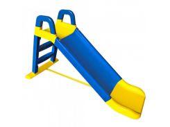 Горка детская Doloni Toys Сине-желтый (222247)