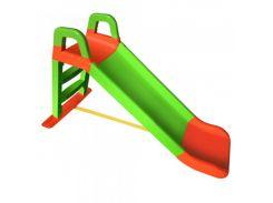 Горка детская Doloni Toys Салатовый-оранжевый (222248)